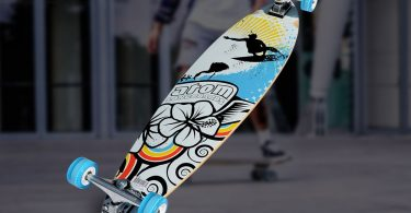 Atom-Pin-Tail-Longboard-Review-for-Skateboarders-1