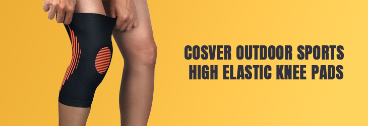 COSVER OUTDOOR SPORTS HIGH ELASTIC KNEE PADS