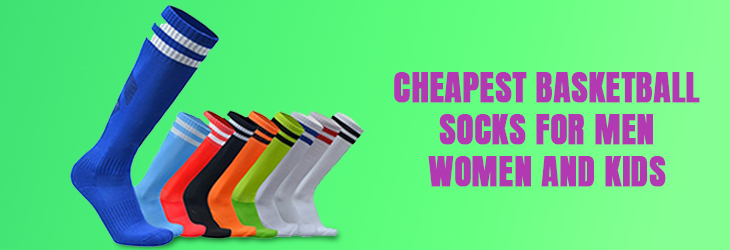 Cheapest Basketball Socks for Men, Women and Kids