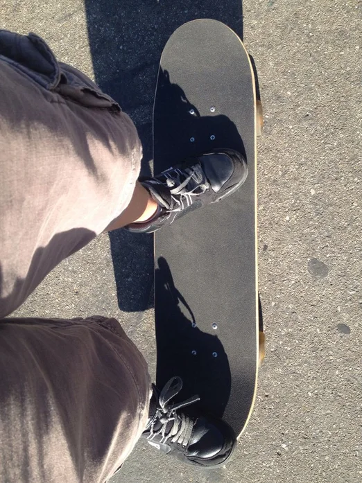 Skateboard Positioning The Foot