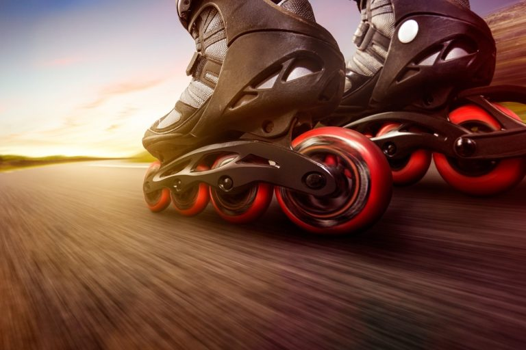 how to stop inline skates