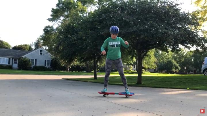 Maintain your balance while in motion