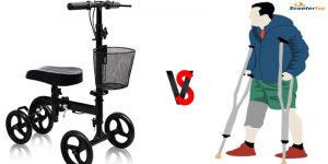 crutches or knee scooter