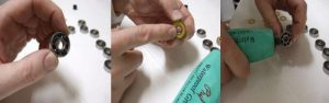 Grease and Re-seal - how to clean ball bearings