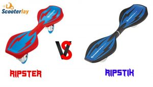Difference between ripstik and ripister