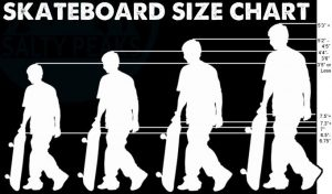 Size Chart - how to choose a good skateboard deck