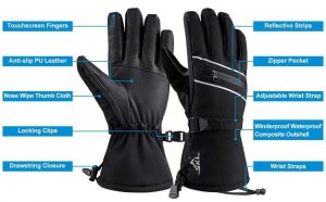 how to buy ski gloves - Features