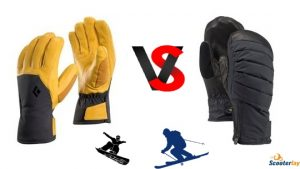 gloves or mittens for snowboarding