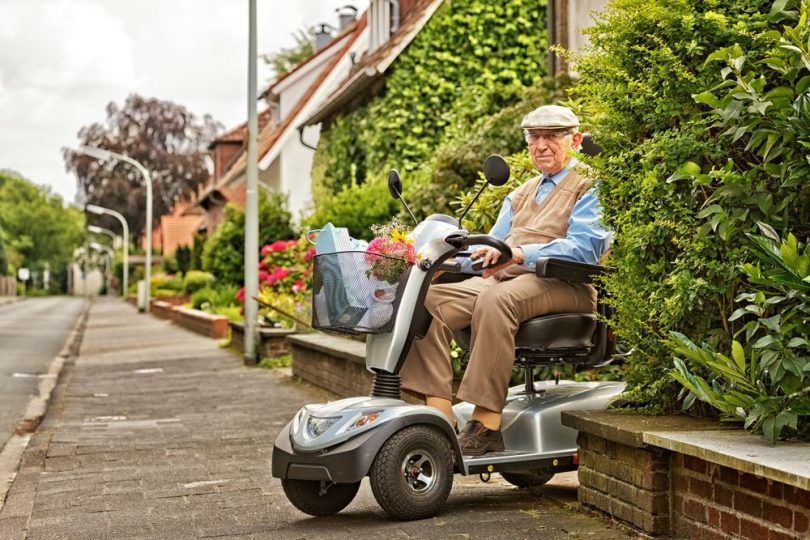 how far can a mobility scooter go